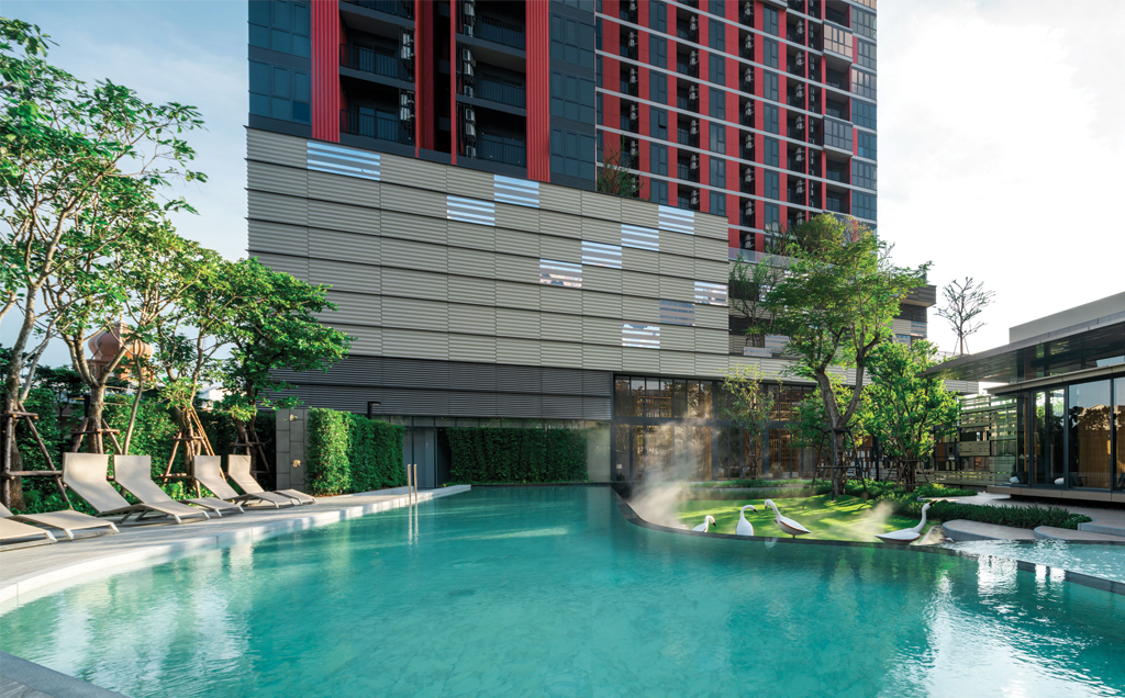 Propfit Agency's 2 Br Condo at The Base Garden Rama 9 8